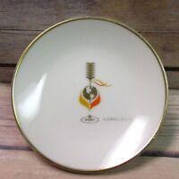 "Vintage Honolulu Souvenir Plate 4"""