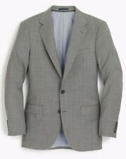JCREW LUDLOW WIDE-LAPEL SUIT JACKET IN STRETCH ITALIAN WOOL 40R MINERAL G5441