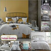 KING SIZE BEDDING SET | COTTON DUVET COVER | Ultra Soft Flannelette Quilt Covers
