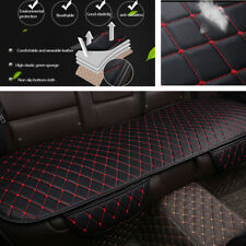 1Pcs PU Leather Universal Car Rear Back Row Seat Cover Cushion Protector Pad Mat