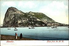 Gibraltar AK ~1900 Stadtansicht mit Felsen Rock Verlag Ferrary Purger ungelaufen