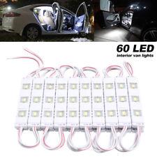 Kit Intérieur 60 LED 12v Voiture éclairage lumière Bateau Caravane Van remorques