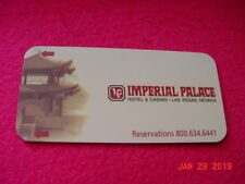 Imperial Palace Casino Hotel Key Card Defunct Hotel