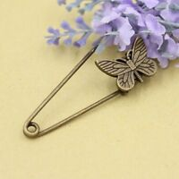 Retro Butterfly Dragonfly Safety Pins Corsage Wedding Lapel Brooch Boutonniere