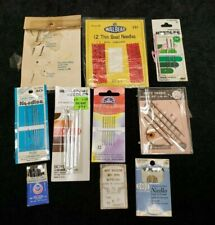 Lot Vintage Sewing Needle Books 1940s Era Tapestry Quilting & More Hand Sew
