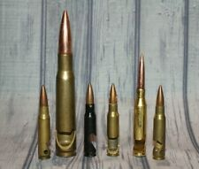 """Lot of 6 Bullet Style Bottle Openers 5.5"""", 4"""" & 2.75"""" various styles (Ls56)"""