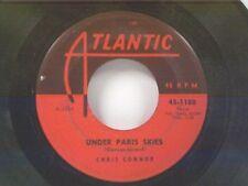 "CHRIS CONNOR ""UNDER PARIS SKIES / MOON RIDE"" 45"