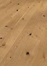 Clic Parkett *8166* Eiche rustikal Landhausdiele geölt gebürstet meister-lich