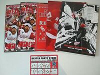 Detroit Red Wings 2008 Stanley Cup program, yearbook, Sports Illustrated - 5 lot