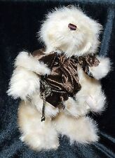 The Bearington Collection Teddy Bear Noel Plush Stuffed Removable Clothes 9 Inch