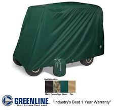 Universal Slip-On 4 Passenger Person Golf Car Cart Storage Cover Green
