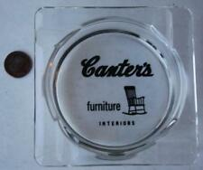1960-70s Canter's American Oak Furniture-interiors rocking chair ashtray-K-mart!