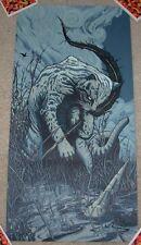 ANDREW AR GHRIST art poster print OCELOT s/n silkscreen jungle book