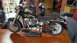 GIANT 1/4 SCALE Harley Davidson FLSTF Fatboy REMOTE CONTROLED!