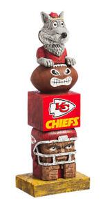 Kansas City Chiefs Tiki Tiki Totem Statue NFL - Free Ship Go Chiefs