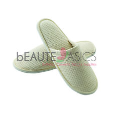 3 Pairs Fine Cotton Waffle Slippers Luxury Spa Slippers - AS160N x3