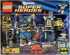 THE BATCAVE Batman DC Universe Super Heroes Lego Set #6860 689pcs Complete 2012
