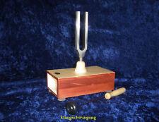 Stimmgabel a` 432 Hz auf Resonanzkasten 175 mm - NEU