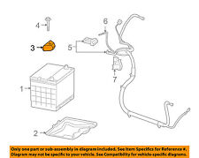 GM OEM-Battery Hold Down Tie Bracket Clamp 10208455