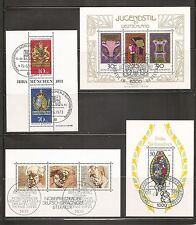 Germany SC # B502-b537-1243 Nativity, Nobel winners,Posthouse signs ETC .MNH
