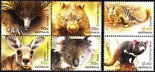 Australia 2015 Native Animals - Complete Set of Stamps (Gummed), MNH