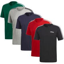 MAGLIA T-SHIRT ADIDAS E 3S TEE ESSENTIALS 3 STRIPES cotone jersey - Vari colori