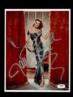 Jane Russell PSA DNA Coa Signed 8x10 Photo Certified Autograph