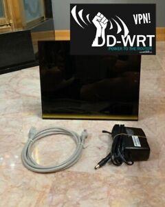 NETGEAR R6300 AC1750 Smart WiFi Router WITH DD-WRT VPN! - HAS HEAVY SCRATCHES!