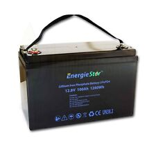 LiFePo4 100Ah Battery 12.8V Lithium Iron Phosphate 12V Heavy Duty Long Life