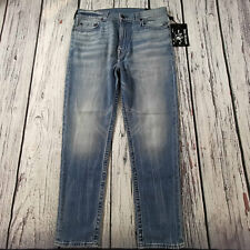 Men's True Religion Jeans 34 x 32 (tag 33) Marco Tapered Jogger Type fit BNWT
