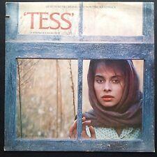 Tess film soundtrack OST LP PHILIPPE SARDE [IMPORT 81] Polanski Nastassia Kinski