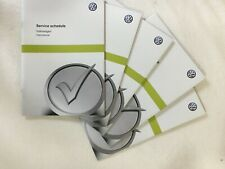 GENUINE NEW BLANK VOLKSWAGEN VW SERVICE BOOK COVERS ALL MODELS GOLF GTD