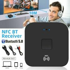 NFC Bluetooth 5.0 Empfänger 3.5mm AUX Cinch Buchse Hifi Wireless Adapter Audio