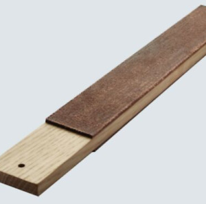 Dual Sided Leather Blades Strop Cutter Razor Sharpener Polishing Board Sharp