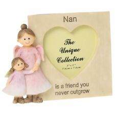 Angelic Thoughts Photo Frame Nan Ornament Home Gift Novelty Present