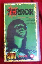TERROR - Norman J Warren Widescreen VHS PAL