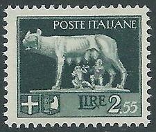 1929-42 REGNO LUPA 2,55 LIRE MNH ** - CZ36-10