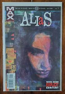Alias #1, 2, 3, 4, 5, 6, 7, 8, 9, 10 Marvel Comics 2002 - Jessica Jones 1st App