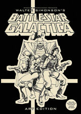 WALTER SIMONSON BATTLESTAR GALACTICA ARTIST EDITION HARDCOVER SIGNED, HEADSKETCH