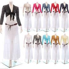 Tie Viscose Long Sleeve Women's Jumpers & Cardigans