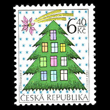 Czech Republic 2002 - Christmas - Sc 3182 Mnh