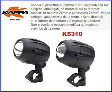 KAPPA KS310 =GIVI S310 TREKKER LIGHTS COPPIA PROIE PROIETTORI SUPPLEMENTARI ALOG