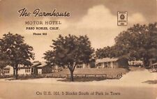 Postcard The Farmhouse Motor Hotel in Paso Robles, California~115280