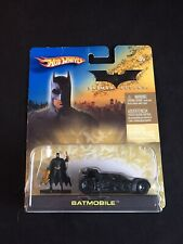2005 Hot Wheels Batman Begins Batmobile Figurine by Mattel NIB