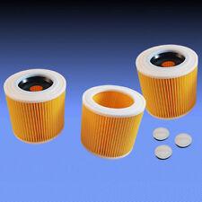 3 Patronenfilter Rundfilter Lamellenfilter Filter für Staubsauger Dewalt D27902
