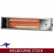 Heller Electric Wall Heater Chrome Pullcord Bathroom Heat Waterproof Strip 1200W