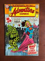 Adventure Comis #386 (1969) 7.5 VF DC Key Issue Silver Age Comics Supergirl