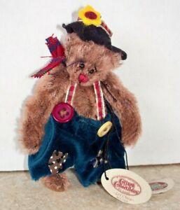 Ganz Cottage Collectibles Miniature Hobo Bear Li'l Chico by Lorraine NWT