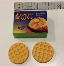 RARE Barbie TYCO Kitchen Littles FROZEN WAFFLES Food Mart Grocery Store