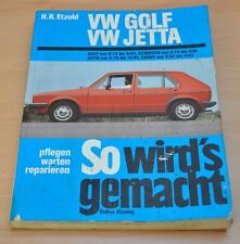 VW Golf Jetta Caddy Scirocco 70 - 112 PS 1974 - 1983 Reparaturanleitung SWG 11